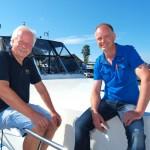 Eigenaren Bauke Hoekstra en Jaco Veenstra